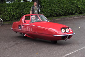 This 2-Wheeled Car Is A $5-Million Masterpiece