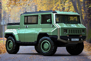 Off-Road Russian Hummer Concept Looks Like A Beast