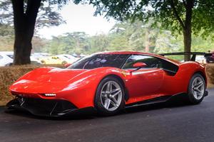 Ferrari P80/C Flaunts Its Bespoke Body At Goodwood