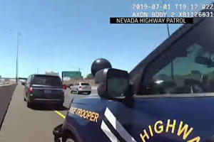 Guy Gets Pulled Over For Using A Corpse In The HOV Lane