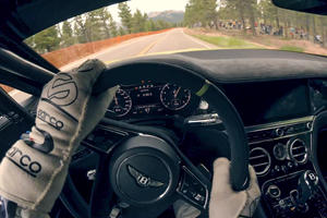Watch The Bentley Continental GT Smash A Pikes Peak Record
