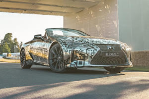Lexus Has Big Plans For The Stunning New LC Convertible