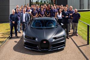 Bugatti Announces Major Chiron Milestone