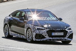 Here's Your First Look At The Audi RS5 Sportback Facelift