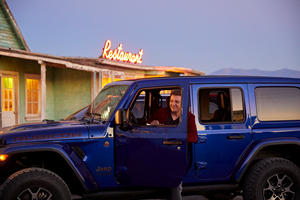 Jeep Hires Superhero Rock Star To Sell Its Cars