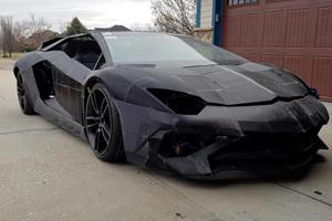 This Brilliant Physicist Is 3D-Printing A Lamborghini Aventador