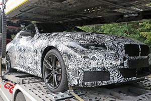 BMW 4 Series Coupe Premiers In First Spy Shots