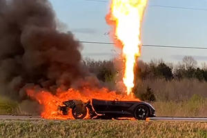 This Guy Painfully Watched His Beloved Corvette Go Up In Flames
