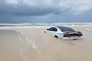 Look What Hurricane Barry Did To This Dodge Charger