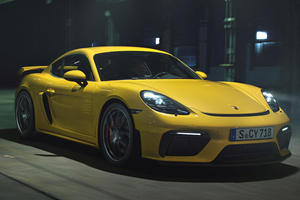 Porsche Could Build A More Powerful Cayman GT4 RS