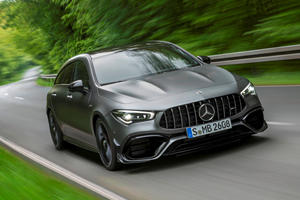 Mercedes-AMG CLA 45 Shooting Brake Unleashed With 421 HP