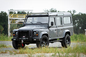 Beautiful Old Land Rover With Corvette V8 Is A Genius Concept