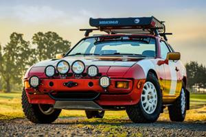 Someone Converted A Porsche 924S Into A Radical Rally Car