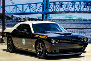 Hemi-Powered Dodge Challenger Can't Wait To Pull You Over