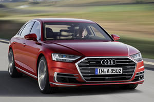 Audi's Ultra-Cool Flagship Gets A Trick New Comfort Feature