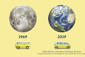 Volkswagen Launches Perfect Moon Landing Anniversary Tribute