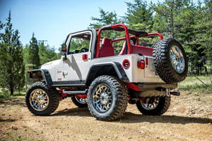 This Heavily Modified Jeep Wrangler Was Built By High School Kids