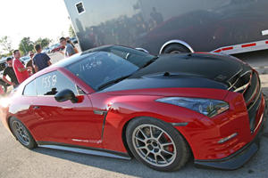 Switzer's Red Katana GT-R Hits 8-Seconds in the Quarter-Mile