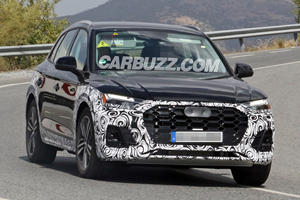 Audi's Best-Selling Crossover Is Ready For A Refresh