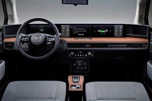 The Honda E's High-Tech Interior Makes Us Envious