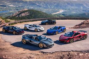 Custom McLaren 600LT Collection Pays Tribute To Pikes Peak