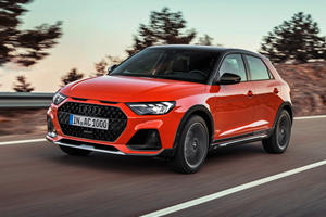 Say Hello To The Citycarver: Audi's Smallest Crossover Ever