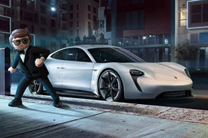 Porsche Doesn't Want Superheroes Driving The Taycan