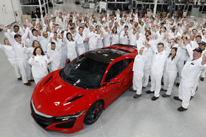 Unlike Other Supercars, The Acura NSX Is Made In America
