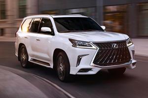 2020 Lexus LX 570 Makes Toyota Land Cruiser Look Bland