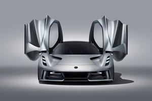 Here's When The 1970-HP Lotus Evija Will Debut In America