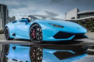 Ex-Playboy Model Accidentally Drives Lamborghini Into Pool