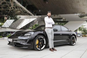 What Does Rimac's Boss Think Of The Porsche Taycan?
