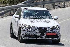 Stylish Alfa Romeo Stelvio Preparing For A Refresh