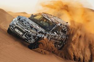 Watch The New Land Rover Defender Take On The Dubai Desert