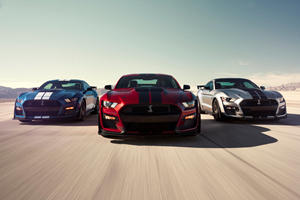 2020 Ford Mustang Shelby GT500 Delivers Supercar Performance