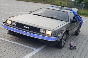 Someone Turned A DeLorean Into The Coolest Remote-Control Car Ever