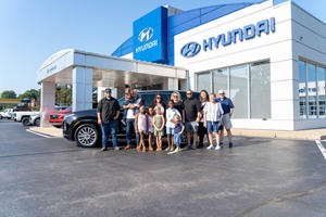 Hyundai Gives Away A Palisade To A Deserving Family