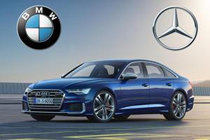 Audi S6 Vs. BMW M550i Vs. Mercedes-AMG E53: A Midsize Luxury Brawl