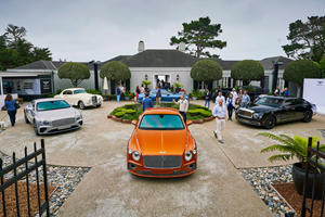 Bentley's 100th Birthday Party Comes To America