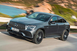 2020 Mercedes-AMG GLC 43 Coupe First Look Review: Sleeker Is Sexier