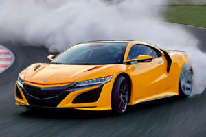 2020 Acura NSX Arrives With Awesome Retro Paint Job