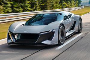 Audi's 950-HP Electric Hypercar Takes Shape