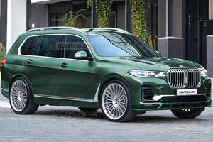 Alpina's BMW X7 M Alternative Will Look Like This