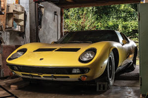 Amazing Lamborghini Barn Find Could Be Worth A Fortune