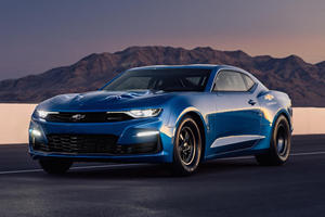 You Can Buy The World's Only Chevy eCOPO Camaro
