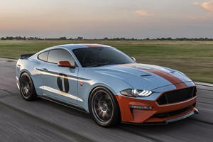 Feast Your Eyes On This 800-HP Gulf Heritage Edition Ford Mustang