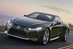 "2020 Lexus LC Inspiration Series Is Not Your Typical ""Green"" Car"