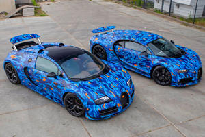 Look What This Guy Did To His Bugattis
