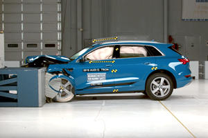 Here's What Happened After The Audi E-Tron Crash Test