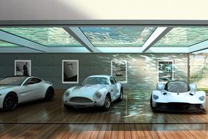 Aston Martin Will Help Design Your Dream Car Garage